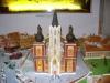 Kostel z perníku - vánoční perníčky