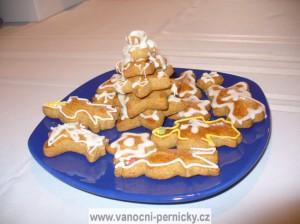 Vánoční perníčky - stromeček a další tvary